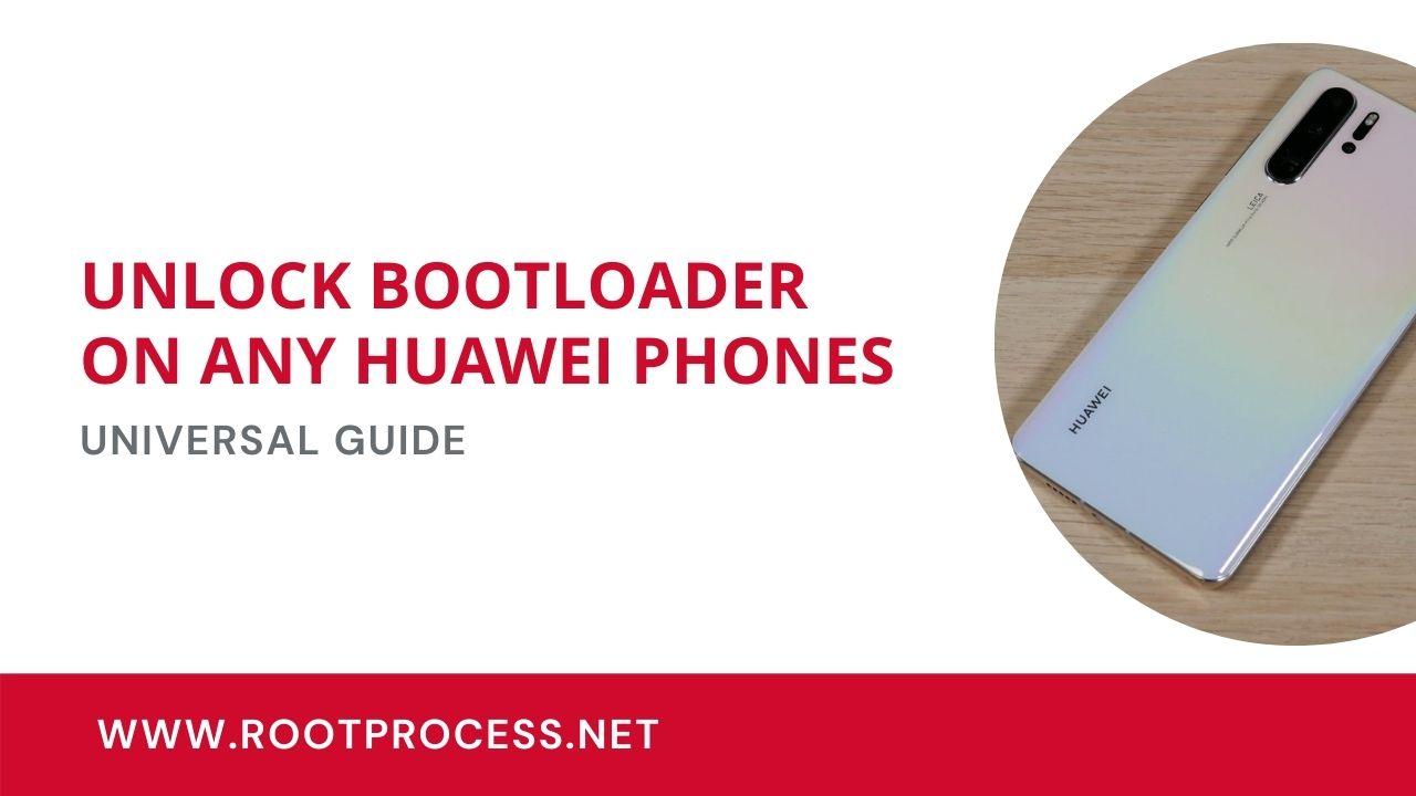 unlock bootloader huawei phones